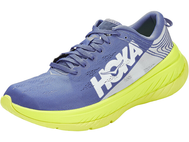 Hoka One One Carbon X Chaussures De Course Homme, amparo blue/evening primrose